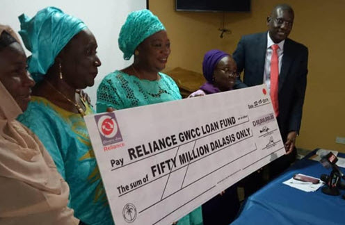 Reliance signs an MOU with Gambia Women's Chamber of Commerce